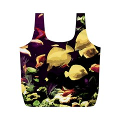 Tropical Fish Full Print Recycle Bags (m)