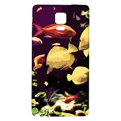Tropical Fish Galaxy Note 4 Back Case
