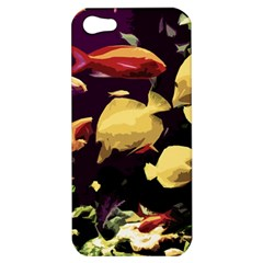 Tropical Fish Apple Iphone 5 Hardshell Case by Valentinaart