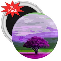 Landscape 3  Magnets (10 Pack)  by Valentinaart