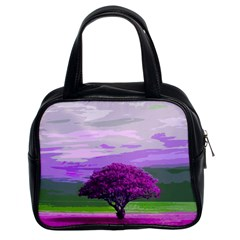 Landscape Classic Handbags (2 Sides) by Valentinaart