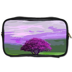 Landscape Toiletries Bags 2 Side by Valentinaart