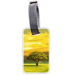 Landscape Luggage Tags (one Side)