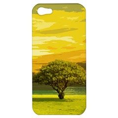 Landscape Apple Iphone 5 Hardshell Case by Valentinaart