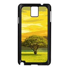 Landscape Samsung Galaxy Note 3 N9005 Case (black)