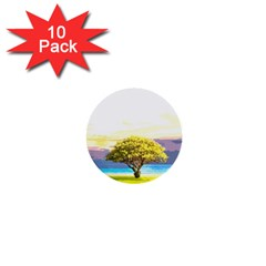 Landscape 1  Mini Buttons (10 Pack)  by Valentinaart