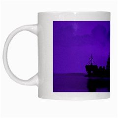 Open Sea White Mugs by Valentinaart