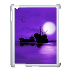 Open Sea Apple Ipad 3/4 Case (white) by Valentinaart
