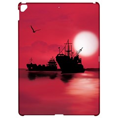 Open Sea Apple Ipad Pro 12 9   Hardshell Case by Valentinaart