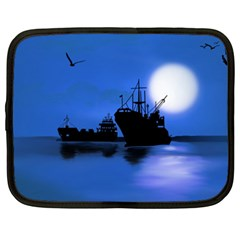 Open Sea Netbook Case (xxl)  by Valentinaart