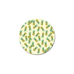 Pineapples Pattern Golf Ball Marker (10 Pack) by Valentinaart