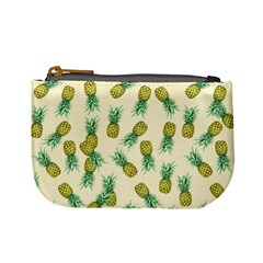 Pineapples Pattern Mini Coin Purses by Valentinaart