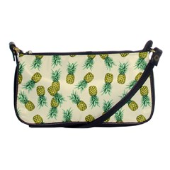 Pineapples Pattern Shoulder Clutch Bags
