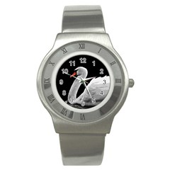 Swan Stainless Steel Watch