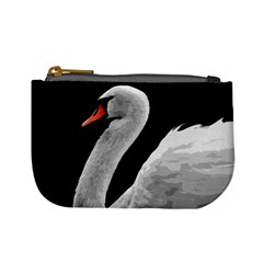 Swan Mini Coin Purses by Valentinaart