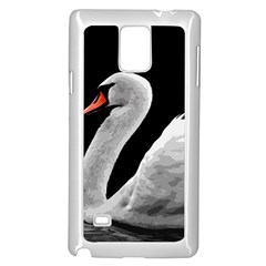Swan Samsung Galaxy Note 4 Case (white)