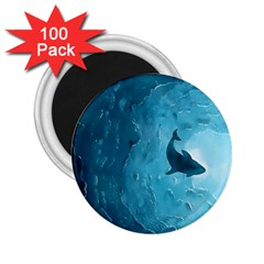 Shark 2 25  Magnets (100 Pack)  by Valentinaart