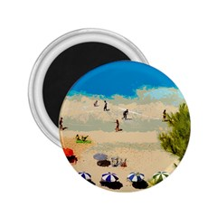 Beach 2 25  Magnets by Valentinaart