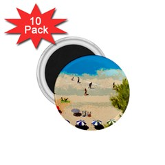 Beach 1 75  Magnets (10 Pack)  by Valentinaart