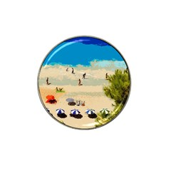 Beach Hat Clip Ball Marker
