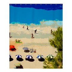 Beach Shower Curtain 60  X 72  (medium)