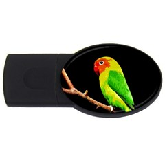 Parrot  Usb Flash Drive Oval (4 Gb) by Valentinaart