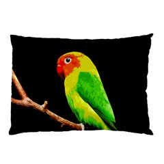 Parrot  Pillow Case (two Sides) by Valentinaart