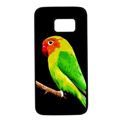Parrot  Samsung Galaxy S7 Black Seamless Case