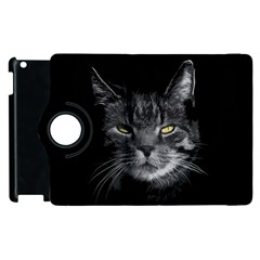 Domestic Cat Apple Ipad 3/4 Flip 360 Case by Valentinaart