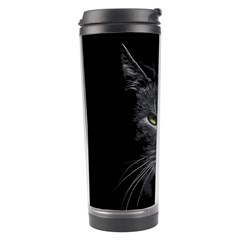 Domestic Cat Travel Tumbler by Valentinaart