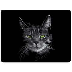 Domestic Cat Double Sided Fleece Blanket (large)