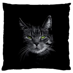 Domestic Cat Standard Flano Cushion Case (one Side) by Valentinaart
