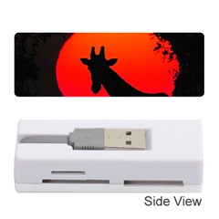 Giraffe  Memory Card Reader (stick)  by Valentinaart