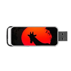 Giraffe  Portable Usb Flash (one Side)