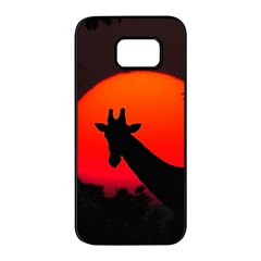 Giraffe  Samsung Galaxy S7 Edge Black Seamless Case
