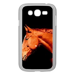 Horse Samsung Galaxy Grand Duos I9082 Case (white) by Valentinaart