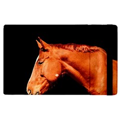 Horse Apple Ipad Pro 9 7   Flip Case by Valentinaart