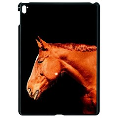 Horse Apple Ipad Pro 9 7   Black Seamless Case by Valentinaart