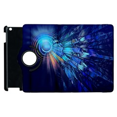 Partition Dive Light 3840x2400 Apple Ipad 2 Flip 360 Case by amphoto
