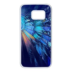 Partition Dive Light 3840x2400 Samsung Galaxy S7 White Seamless Case by amphoto