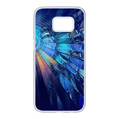 Partition Dive Light 3840x2400 Samsung Galaxy S7 Edge White Seamless Case by amphoto