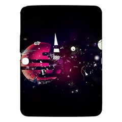 Fragments Planet World 3840x2400 Samsung Galaxy Tab 3 (10 1 ) P5200 Hardshell Case  by amphoto