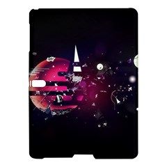 Fragments Planet World 3840x2400 Samsung Galaxy Tab S (10 5 ) Hardshell Case  by amphoto