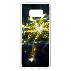 Surface Pattern Light  Samsung Galaxy S8 Plus White Seamless Case by amphoto