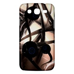 Connection Shadow Background  Samsung Galaxy Mega 5 8 I9152 Hardshell Case  by amphoto