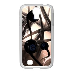 Connection Shadow Background  Samsung Galaxy S4 I9500/ I9505 Case (white) by amphoto