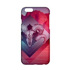 Horns Background Cube  Apple Iphone 6/6s Hardshell Case by amphoto