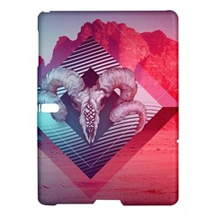 Horns Background Cube  Samsung Galaxy Tab S (10 5 ) Hardshell Case  by amphoto