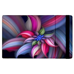 Flower Rotation Form  Apple Ipad 3/4 Flip Case by amphoto