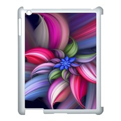 Flower Rotation Form  Apple Ipad 3/4 Case (white) by amphoto